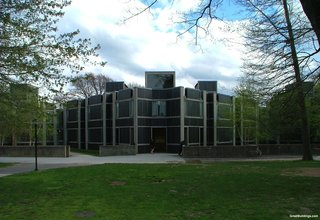 Three Buildings: Noah Walker - Photo 3 of 3 - Louis Kahn's Erdman Dormitory at Bryn Mawr College.