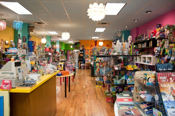 For those young at heart (or with actual youngsters) head to Play Toys and Gifts, where you'll find everything from Mexican jumping beans to candy you thought had gone off the market years ago. If you can imagine a toy, you can probably find it there.