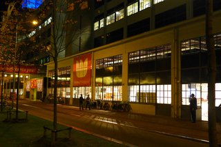 The launch party took place the night before Design Week began at the Klokgebouw in Strijp-S of the old Philips campus.