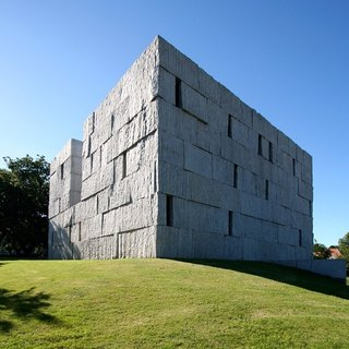 "Instagram Find: Guess the Project - Photo 1 of 3 - This one, which Hui listed as ""Difficult"" is Anton Garcia Abril's Music Studies Center in Santiago de Compostela, Spain. Photo by Kevin Hui."