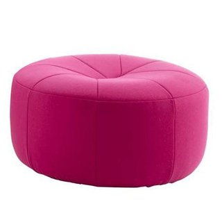 Reissued in 2008, the Pumpkin pouffe ($1,135) is not only an icon, it's an October must.
