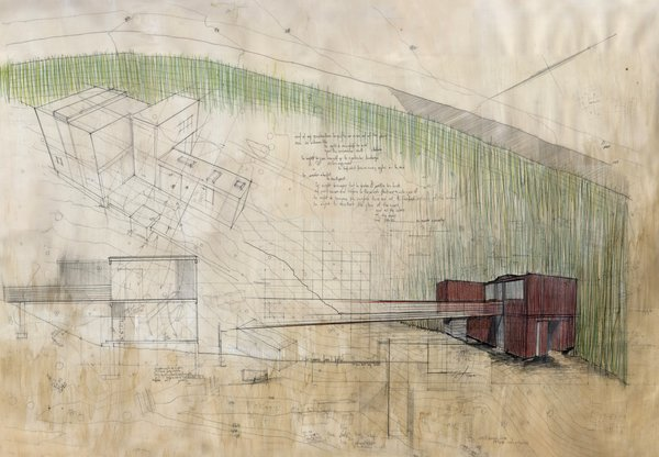Here's a drawing of the home. It ultimately came to $225 per square foot, which falls on the lower end of custom construction costs in Northern California.