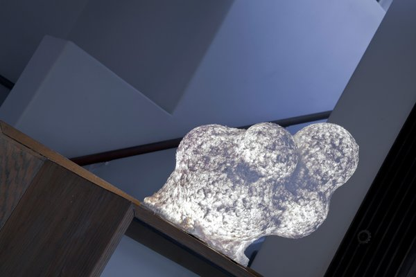 Ball-Nogues Studio, Music Legs Globe Lamp<br><br>Photo by: Patricia Parinejad