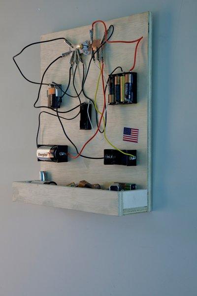 Sam Durant, Dead Battery Power<br><br>Photo by: Patricia Parinejad