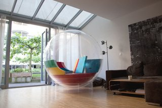 Cocoon can also become a room within a room.