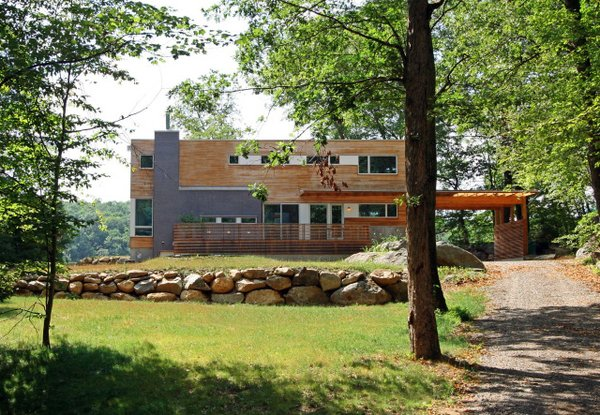 Dwell featured the Lake Iosco House by Resolution: 4 Architecture in the December/January 2013 Prefab Comes Home issue.