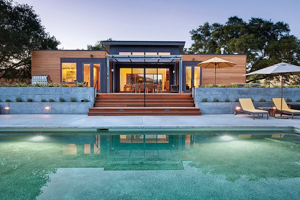 Members of the Blu Homes team will be onstage twice at Dwell on Design. Here's an image of one of their Breezehouses. This one, owned by Blu Homes' West Coast project manager Jeff Morter, was on our Marin Home Tour in 2012 and is located in Healdsburg, California.