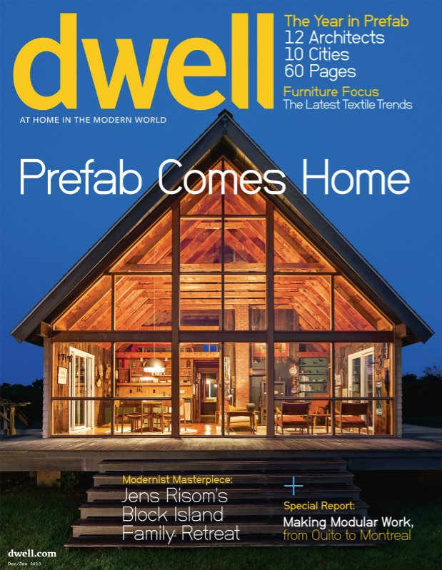 Dwell December/January 2013, Vol. 13 Issue 02: Prefab Comes Home Collection  of 16 Photos by Dwell - Dwell