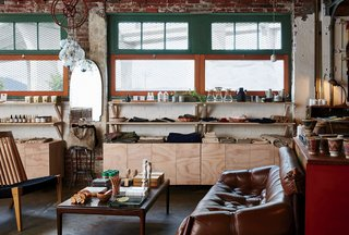 7  Warehouse Conversions: Turning Industrial Buildings Into Modern Commercial Spaces - Photo 11 of 13 - Stocking home goods, accessories, and furniture by close to 400 artisans and makers, the shop is equal doses global and homegrown.