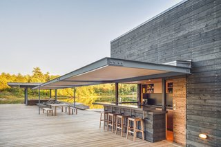 A Modern Lakeside Boathouse in Ontario - Photo 2 of 3 -