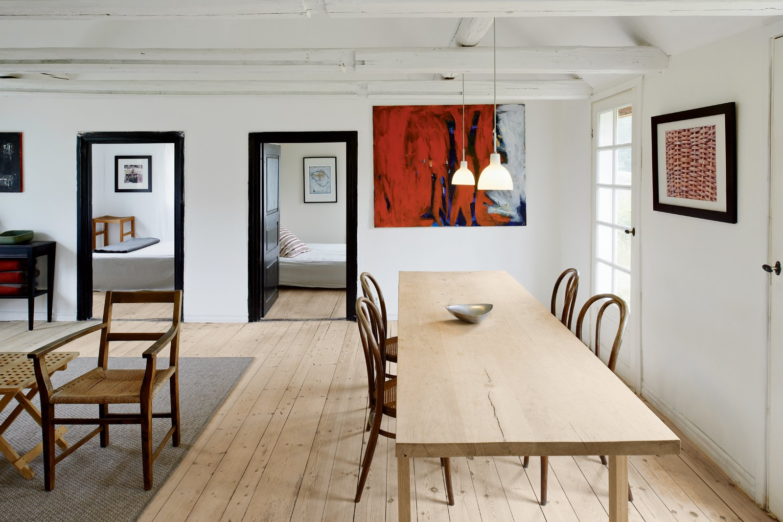 modern meets traditional in a swedish summer house dwell