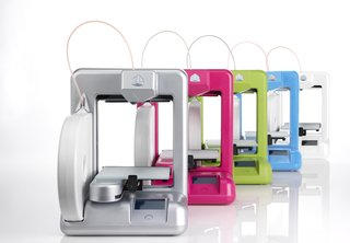 7 Smart Design Innovations at CES 2013 - Photo 1 of 8 - Cubify's 3D printer.
