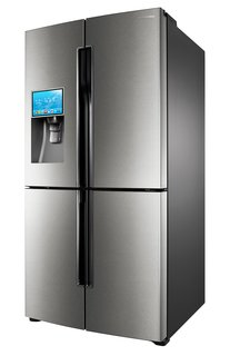 7 Smart Design Innovations at CES 2013 - Photo 3 of 8 - Samsung T9000 LCD refrigerator.