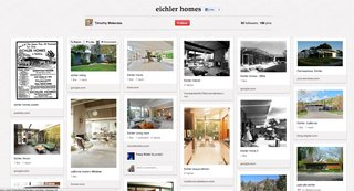 The Pinterest page Eichler Homes offers much in the way of mid-century inspiration.