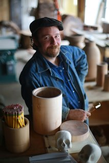 Designer Spotlight: Black Creek Mercantile & Trading Co. - Photo 1 of 5 - Joshua Vogel in his Hudson Valley, New York, studio.