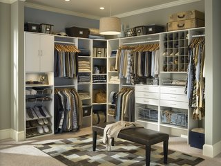 10 Modern Walk-In Closets - Photo 2 of 10 - With Selectives by ClosetMaid, you can mix and match to create your own perfect storage solutions.