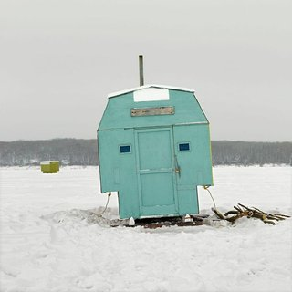 Architecture Off the Grid: Quirky Ice Huts Dot Canada's Frozen Lakes - Photo 1 of 14 -