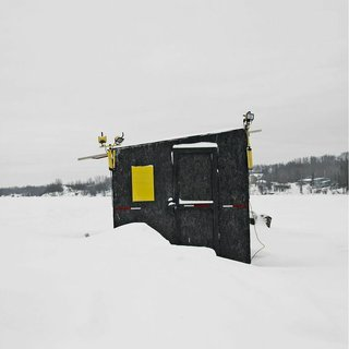 Architecture Off the Grid: Quirky Ice Huts Dot Canada's Frozen Lakes - Photo 3 of 14 -