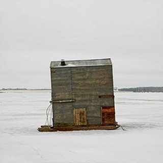 Architecture Off the Grid: Quirky Ice Huts Dot Canada's Frozen Lakes - Photo 5 of 14 -