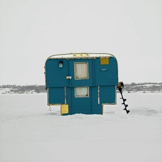Architecture Off the Grid: Quirky Ice Huts Dot Canada's Frozen Lakes - Photo 6 of 14 -