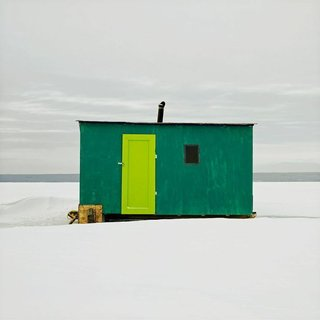 Architecture Off the Grid: Quirky Ice Huts Dot Canada's Frozen Lakes - Photo 10 of 14 -