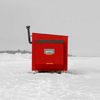 Architecture Off the Grid: Quirky Ice Huts Dot Canada's Frozen Lakes - Photo 13 of 14 -