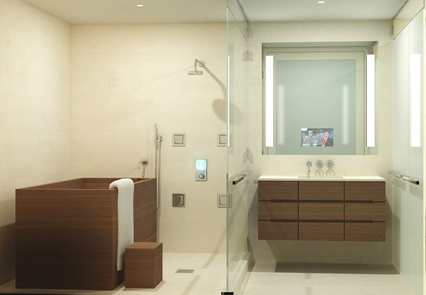 Dwell japanese soaking tubs - Which uses more water bath or shower ...