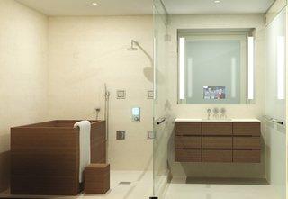 Japanese Soaking Tubs   Photo 9 of 13   A soaking tub satisfies both  bathJapanese Soaking Tubs   Dwell. Deep Tub With Shower. Home Design Ideas