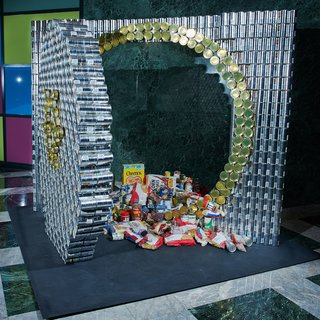 New York's 20th Annual Canstruction - Photo 1 of 3 -