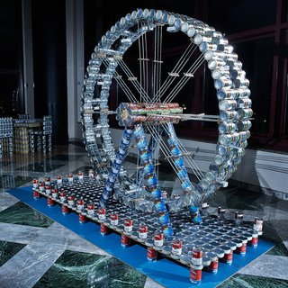 New York's 20th Annual Canstruction - Photo 3 of 3 - The Staten Island Eye by CH2M.