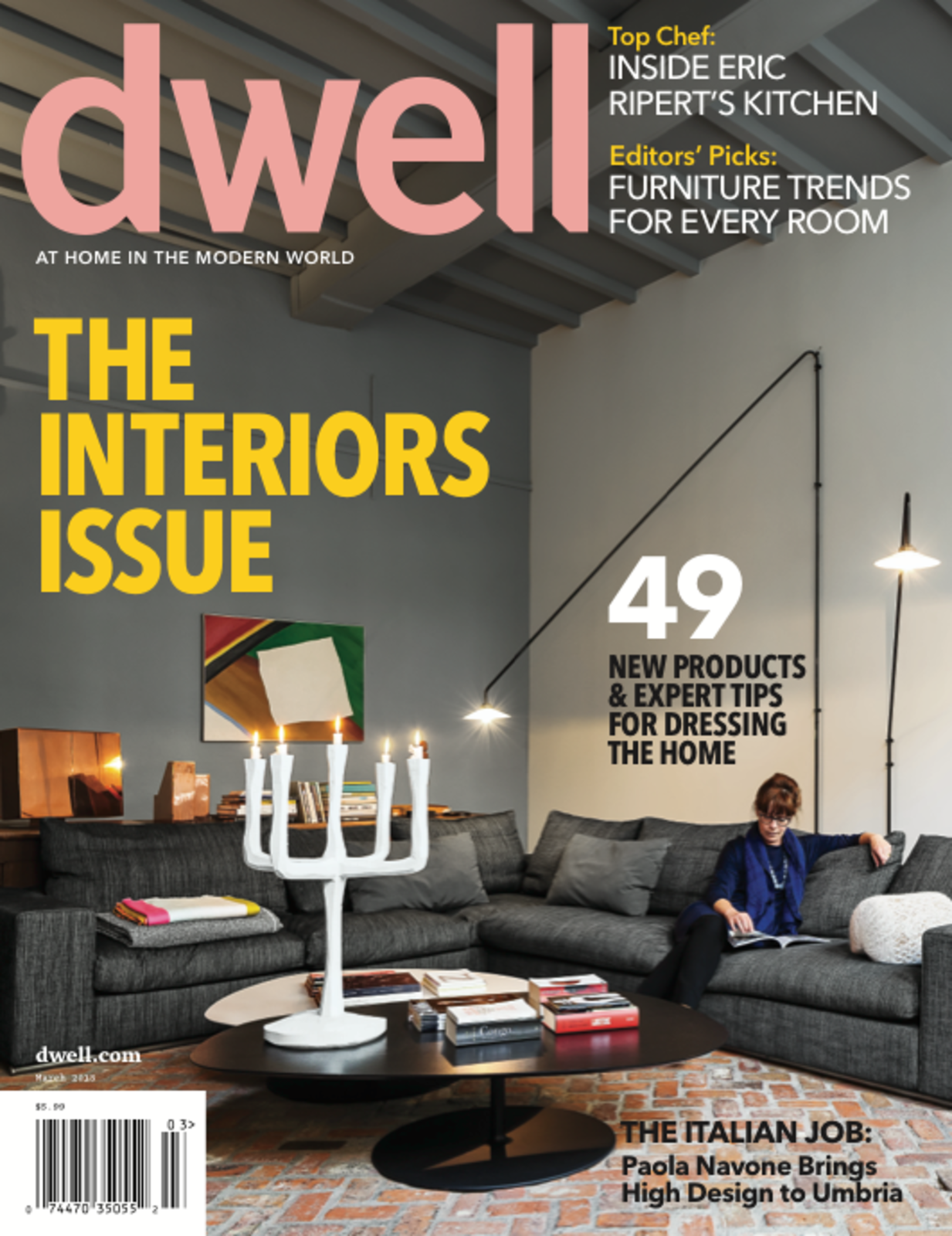 Dwell March 2013 Vol 13 Issue 04 The Interiors Collection Of 11 Photos By
