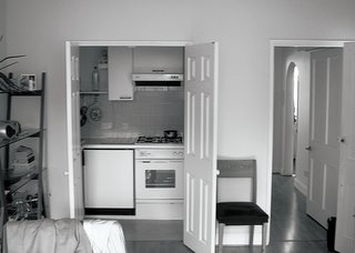 "An American Ex-Pat Renovates a Tiny London Apartment on Her Own Terms - Photo 5 of 14 - ""I knew how far I could push. I knew when the tears would come and when the joy would.""—Johanna Molineus, architect and resident"