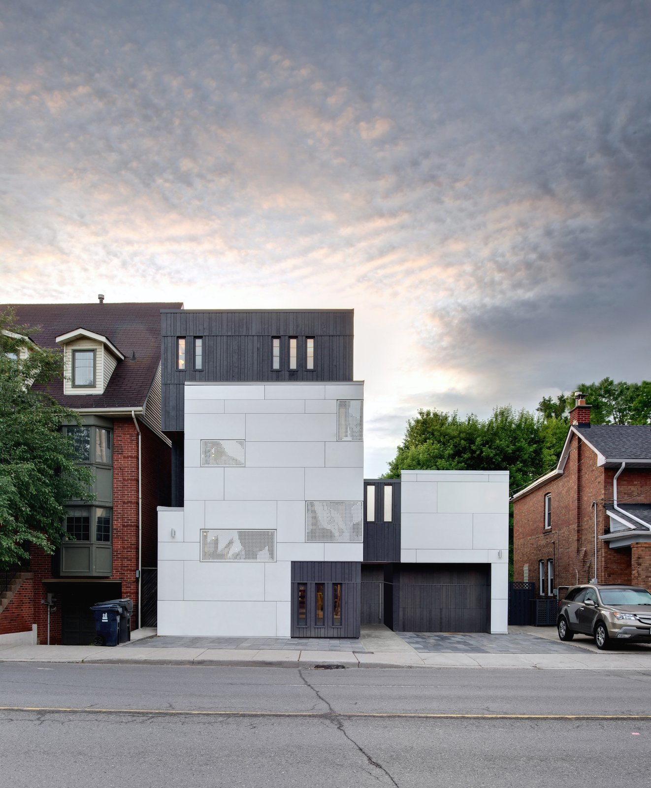 The repurposed home, which formerly housed famed flower bulb distribution company Cruickshank's, is now a local landmark in its own right, standing out on the street as a modern reminder of the building's history.  20+ Modern Warehouse and Garages Conversions by Zachary Edelson from From a Flower Bulb Factory to an Entertainment Hub