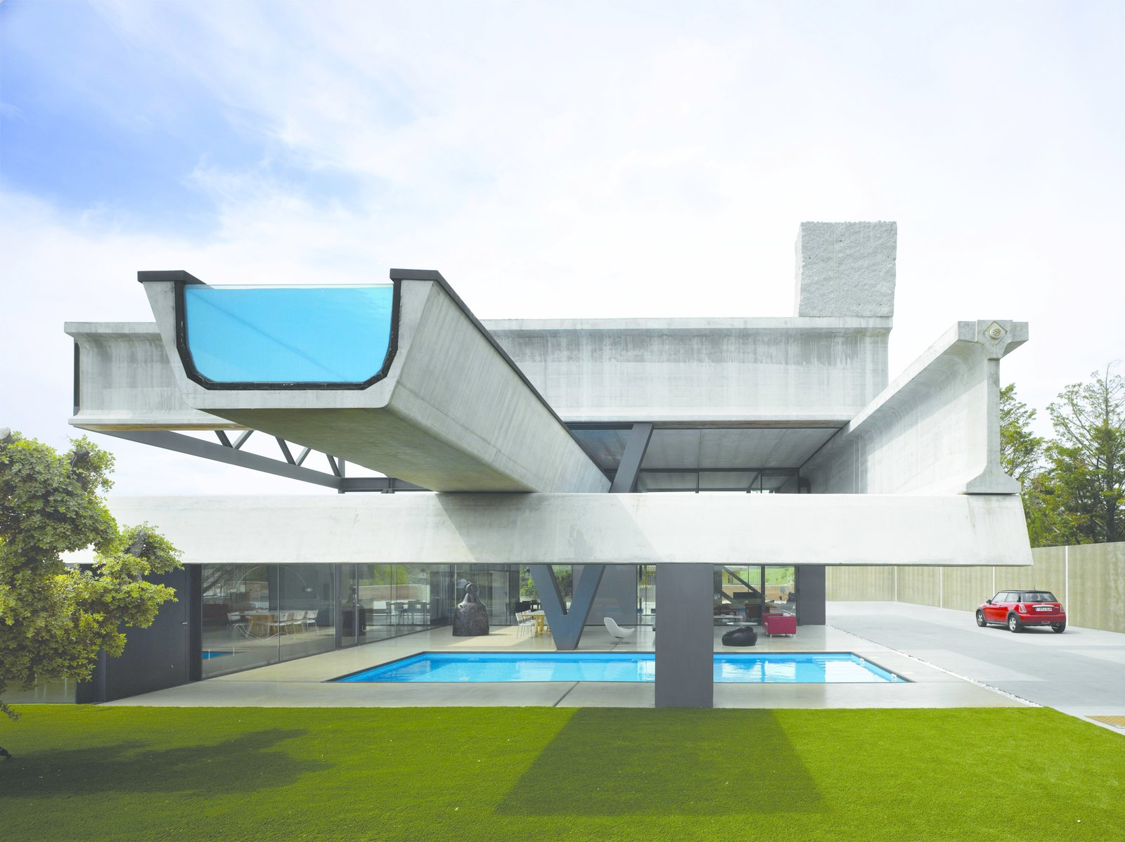 Photo 11 of 11 in 10 works of architecture that reveal the for Repurposed swimming pool