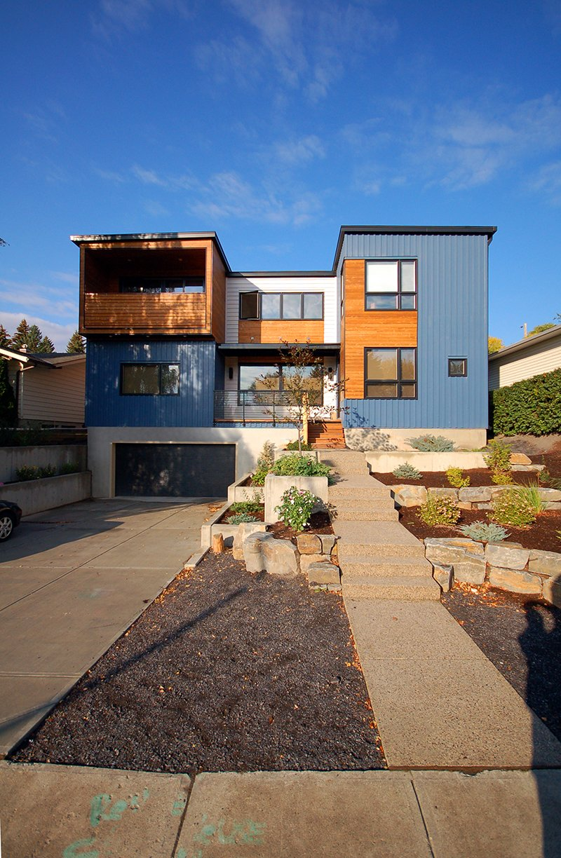 Articles About Modular And Modern Canada 2 Cool Homes Popping Calgary And Beyond On