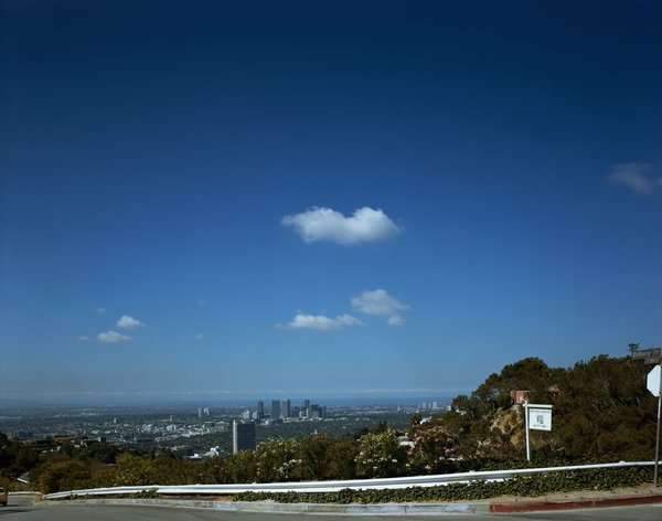 Landscape #4 (Doheny Drive), 1996, from Landscapes. Courtesy Regen Projects, Los Angeles © Catherine Opie