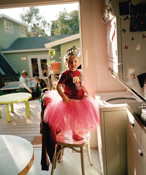 Oliver in a Tutu, 2004, from In and Around Home. Courtesy Regen Projects, Los Angeles © Catherine Opie