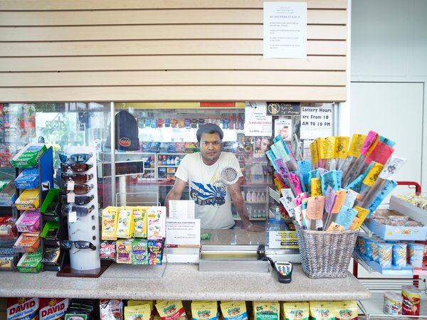 Tavir (Gas Station), 2011, from Shopkeepers. Courtesy Regen Projects, Los Angeles © Catherine Opie