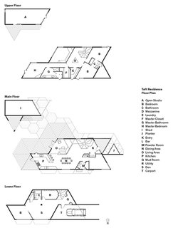 28 Triangles Make Up This Hyper-Angular Family Home - Photo 12 of 12 -