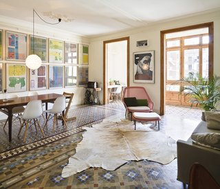 Historic Details and Playful Modernism Meet in this Stunning Barcelona Flat - Photo 1 of 8 -