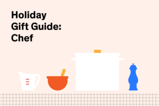 26 Gift Guides for ALL Your Holiday Shopping Needs - Photo 3 of 27 - Don't relegate your favorite chef to cooking with hand-me-down pot holders and worn out bakeware. This holiday season, here are ten picks to help the home chef stay organized and on trend.