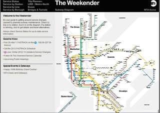Standing Room Only: The Vignelli Subway Map - Photo 7 of 7 - The Vignelli map reincarnated. The Weekender app for iPhone and Droid also lives online. Provided by the New York Transit Museum.