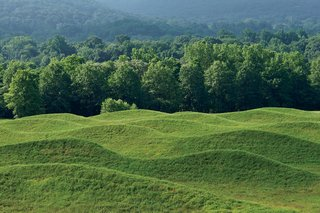 Q&A with Architectural Designer and Artist Maya Lin - Photo 4 of 8 - Rows of rolling earth comprise the 2009 Storm King Wavefield, the artist's largest site-specific installation.