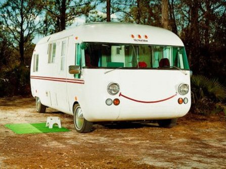 Say cheese! Via airstream-motorhome.  Cool Airstreams by Eujin Rhee