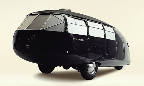 And just for a little trailer nostalgia—Buckminster Fuller's highly innovative and influential 1934 Dymaxion concept car, which has a fuel efficiency of 30 miles/gallon and can seat up to 11 passengers. Via Circular.  Cool Airstreams by Eujin Rhee