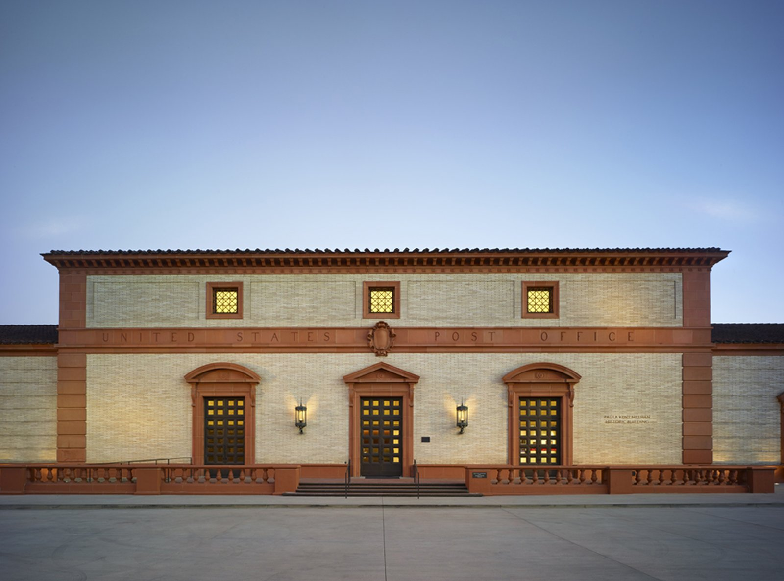 The former post office in Beverly Hills gained new life as the centerpiece of a performing arts complex, the Wallis Annenberg Center for the Performing Arts.  Photo 7 of 7 in 7 Preserved Modern Architecture Icons in Los Angeles
