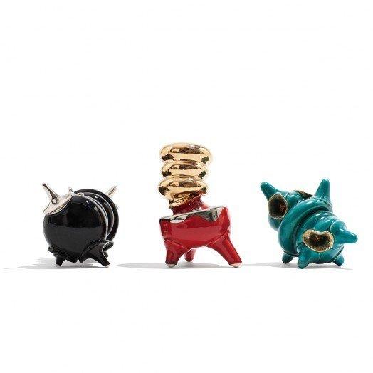 Danish Crafts Announces Mindcraft13 for Salone - Photo 7 of 13 - Decadent Dogu by Michael Geertsen-An interpretation of the ceramic Japanese figure.