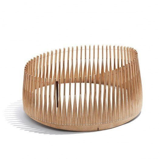 Danish Crafts Announces Mindcraft13 for Salone - Photo 10 of 13 - Little Ship by Eske Rex-A cross between a cart, a crib, and a baby's playpen.