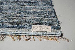 Scandinavian Rag Rugs Made from Recycled Denim - Photo 2 of 2 -