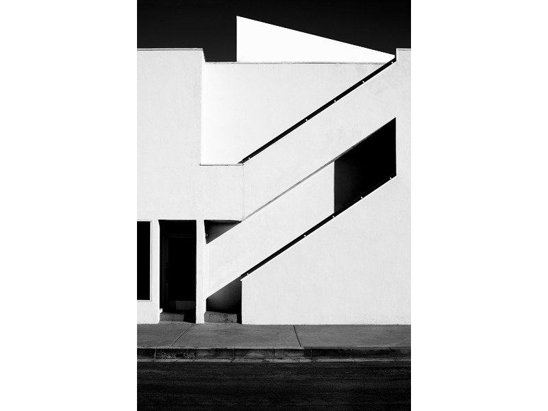 Composition by Lara Deam from Photographer Nicholas Alan Cope's Black and White L.A.